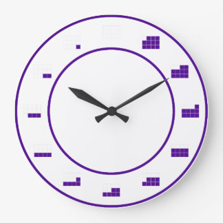In A Fraction of Time:  by twelths Wall Clocks