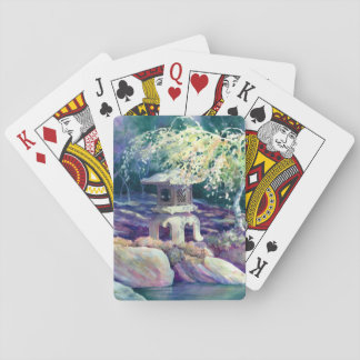 In a Japanese Garden Playing Cards