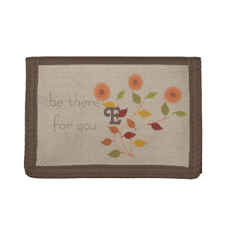 In a Mood for Fall Floral Wallet
