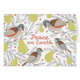 In a Pear Tree Greeting Card