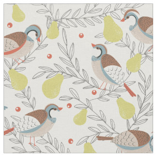In a Pear Tree Fabric