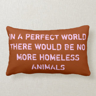 In a Perfect World Lumbar Cushion