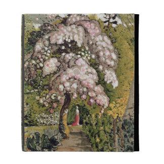In a Shoreham Garden (w/c) iPad Folio Cases