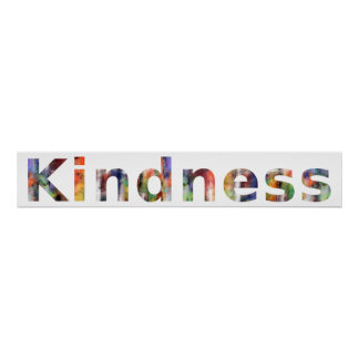 In A Word: Kindness Poster