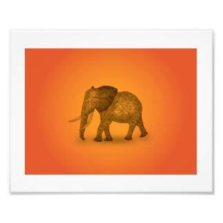 In Africa - Elephant Photo Art