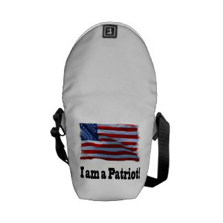 In am a patriot courier bags