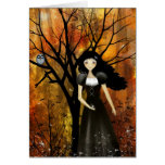 In an Autumn Forest Greeting Card