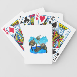 IN BEAUTIFUL WATERS BICYCLE PLAYING CARDS