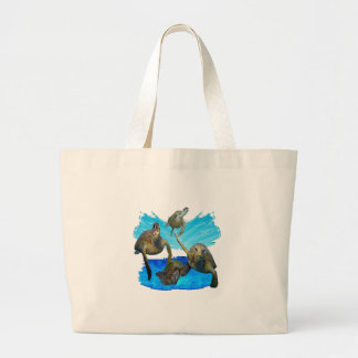 IN BEAUTIFUL WATERS LARGE TOTE BAG