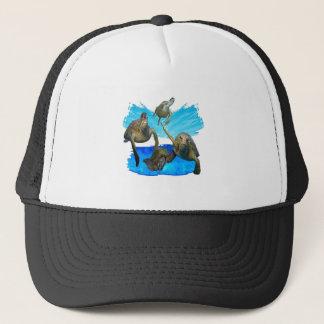 IN BEAUTIFUL WATERS TRUCKER HAT
