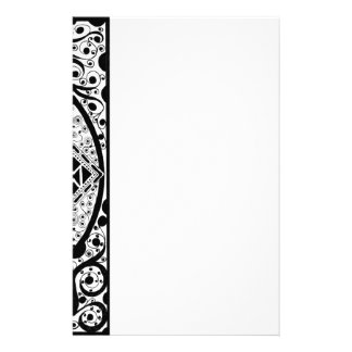 in Black & White Personalized Stationery