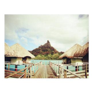 In Bora Bora Postcard