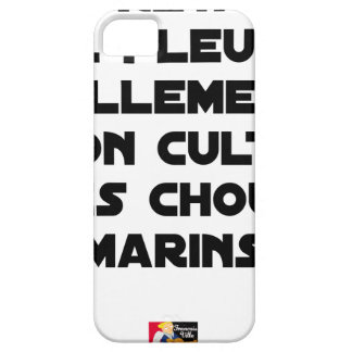 IN BRITTANY, IT RAINS SO MUCH THAT ONE CULTIVATES BARELY THERE iPhone 5 CASE
