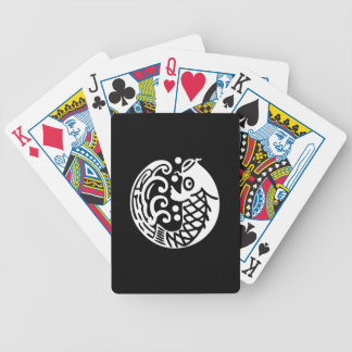 In carp wave bicycle playing cards