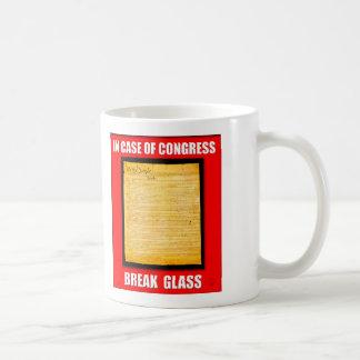 In Case of Congress Break Glass Mug