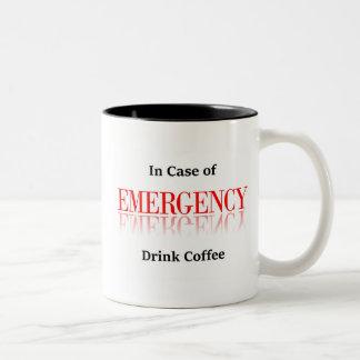 In Case of Emergency Drink Coffee Mug