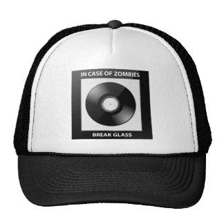 In Case Of Zombies Break Glass Hats