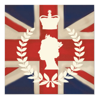 In Celebration of HM QE2 Diamond Jubilee  on ivory Card