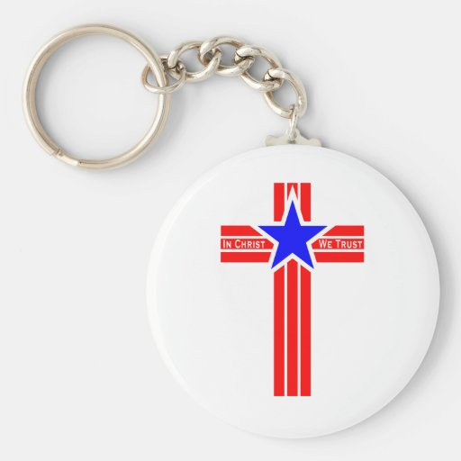In Christ We Trust Key Chains