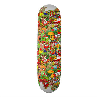 In Christmas melt into the crowd and enjoy it Skate Board Decks