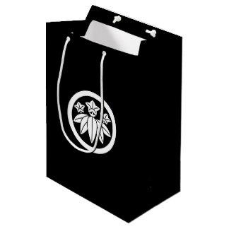 In circle bamboo grass dragon gallbladder medium gift bag