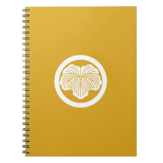 In circle ivy spiral notebook