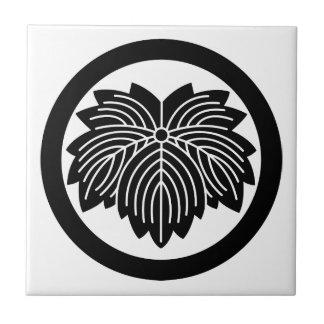 In circle ogre ivy ceramic tile