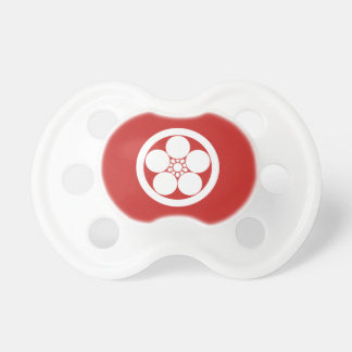 In circle plum bowl baby pacifiers