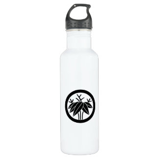 In circle root bamboo grass 710 ml water bottle