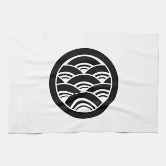 In circle Seikai wave Tea Towel