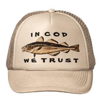 In Cod We Trust Cap