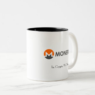 In Crypto We Trust Monero Mug