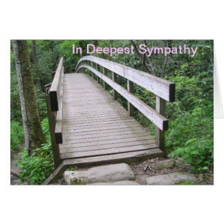In Deepest Sympathy Note Card