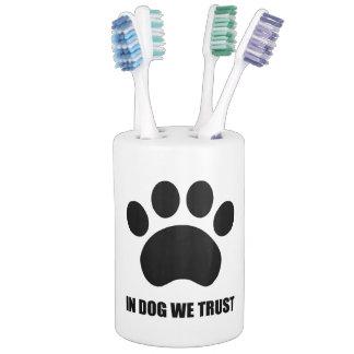 In Dog We Trust Bathroom Set
