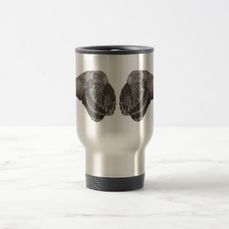 In dove wings travel mug