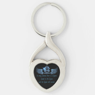 In every Woman Heart Keychain