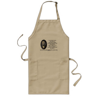 In Every Work Of Genius Our Own Rejected Thoughts Long Apron