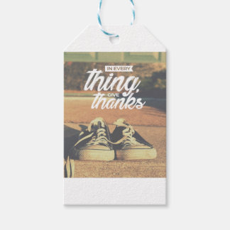 In Everything Give Thanks Gift Tags