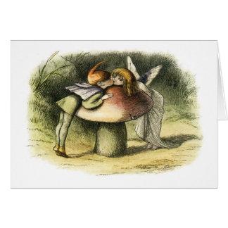 In Fairyland A Fairy Kiss by Richard Doyle Card