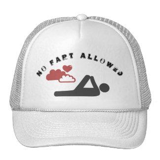 In fart allowed cap
