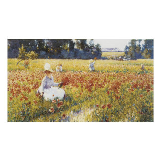 In Flanders Field, Robert Vonnoh Poster