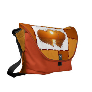 in for romance commuter bag