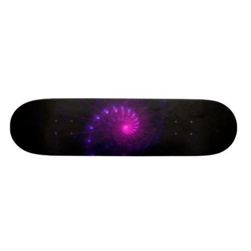 """""""In Frame"""" Fractal Art Skateboard"""