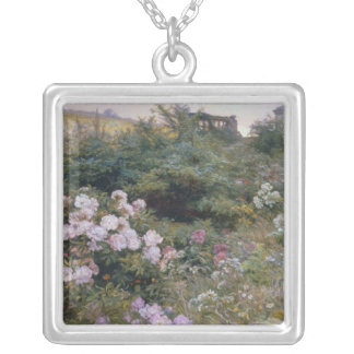 In Full Bloom Silver Plated Necklace