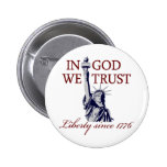 In God We Trust Button