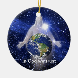 In God We Trust Christmas Tree Ornament