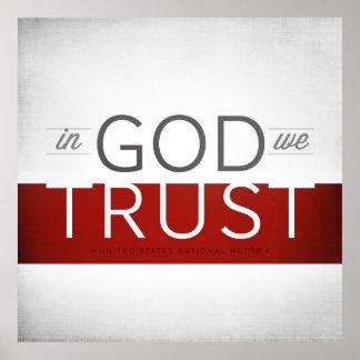 In God We Trust I Poster