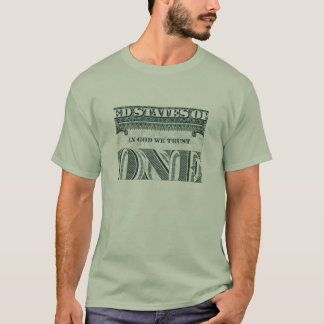 In God We Trust -One t-shirt