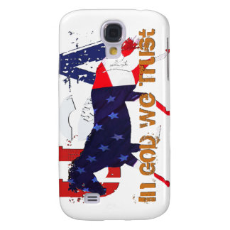 In God We Trust-Patriotic Horse Samsung Galaxy S4 Cover