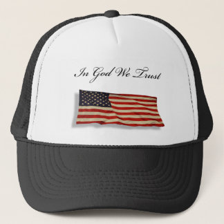 In God we Trust Trucker Hat